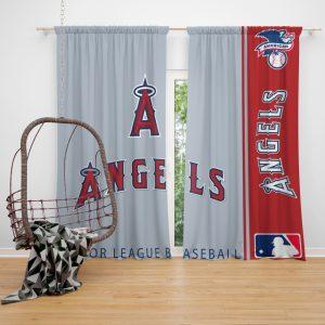 Los Angeles Angels MLB Baseball American League Window Curtain