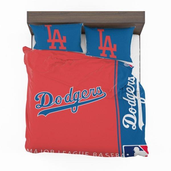 Los Angeles Dodgers MLB Baseball National League Bedding Set 2