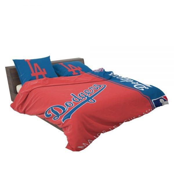 Los Angeles Dodgers MLB Baseball National League Bedding Set 3