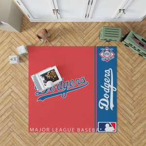 Los Angeles Dodgers MLB Baseball National League Floor Carpet Rug Mat 1