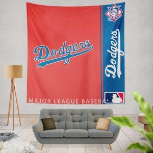 Los Angeles Dodgers MLB Baseball National League Wall Hanging Tapestry