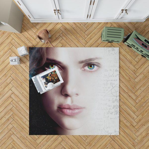 Lucy Movie Scarlett Johansson Bedroom Living Room Floor Carpet Rug 1