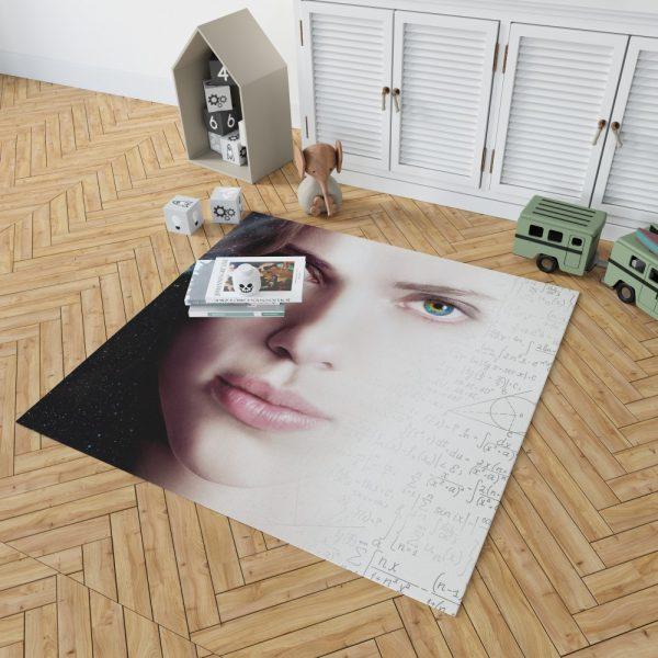 Lucy Movie Scarlett Johansson Bedroom Living Room Floor Carpet Rug 2