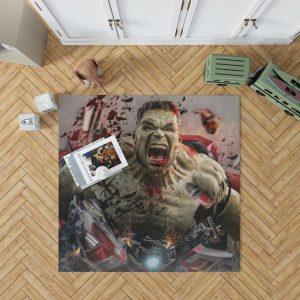 MCU Avengers Endgame Movie Hulk Bedroom Living Room Floor Carpet Rug 1