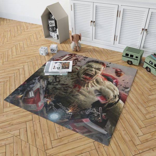 MCU Avengers Endgame Movie Hulk Bedroom Living Room Floor Carpet Rug 2
