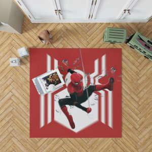 MCU Spider-Man Far From Home Bedroom Living Room Floor Carpet Rug 1