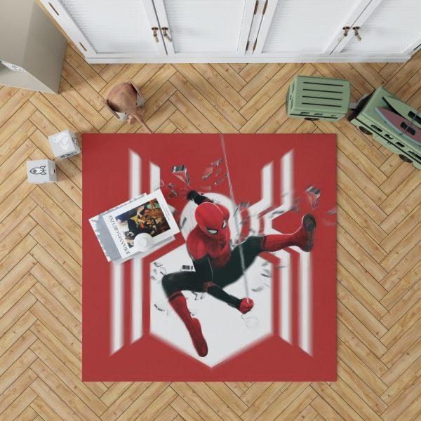 MCU Spider-Man Far From Home Bedroom Living Room Floor Carpet Rug 1