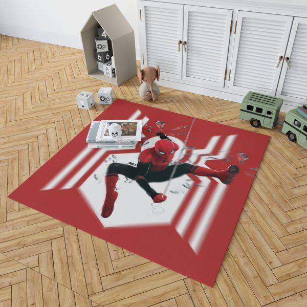 MCU Spider-Man Far From Home Bedroom Living Room Floor Carpet Rug 2