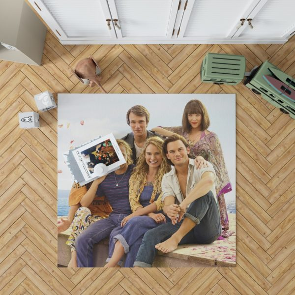 Mamma Mia! Here We Go Again Movie Bedroom Living Room Floor Carpet Rug 1