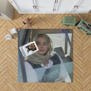 Margot Robbie in Whiskey Tango Foxtrot Movie Bedroom Living Room Floor Carpet Rug 1