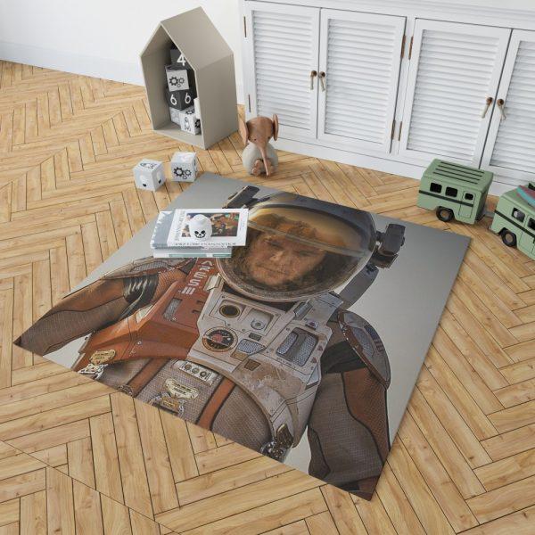 Mark Watney Matt Damon in The Martian Movie Bedroom Living Room Floor Carpet Rug 2