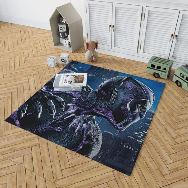 Marvel Black Panther Movie Bedroom Living Room Floor Carpet Rug 2