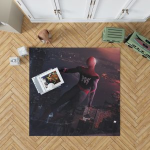 Marvel Comics Spider-Man Far From Home Peter Parker Bedroom Living Room Floor Carpet Rug 1