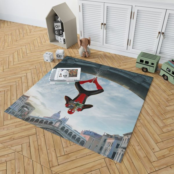 Marvel MCU Spider-Man Far From Home Movie Bedroom Living Room Floor Carpet Rug 2