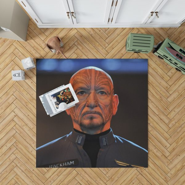 Mazer Rackham in Ender's Game Movie Bedroom Living Room Floor Carpet Rug 1