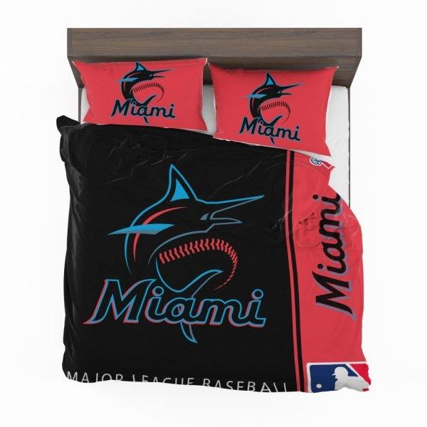 Miami Marlins MLB Baseball National League Bedding Set 2