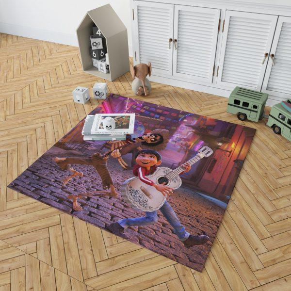Miguel Rivera Hector Coco Disney Pixar Bedroom Living Room Floor Carpet Rug 2