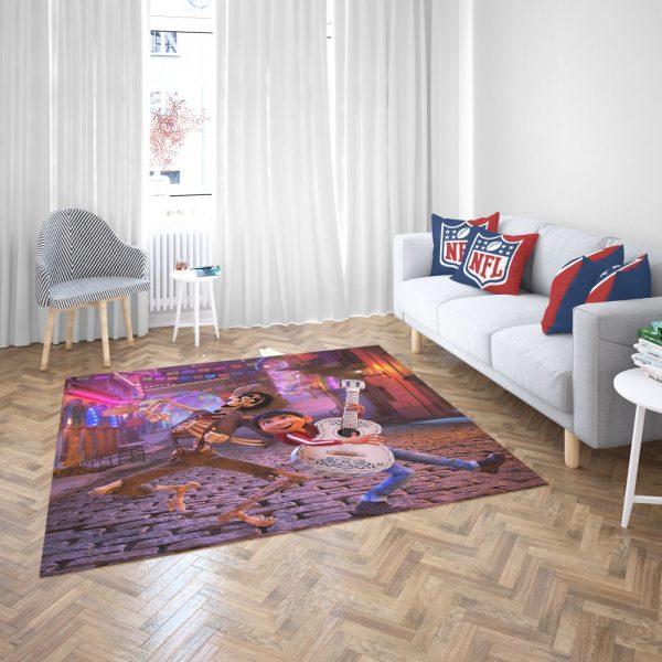 Miguel Rivera Hector Coco Disney Pixar Bedroom Living Room Floor Carpet Rug 3