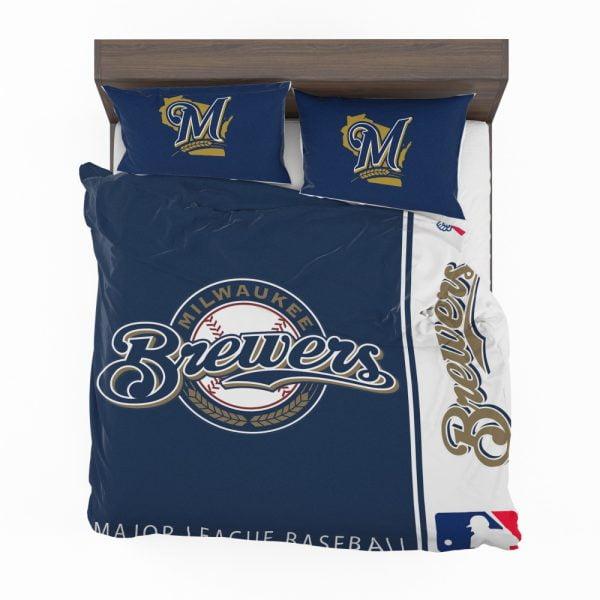 Milwaukee Brewers MLB Baseball National League Bedding Set 2