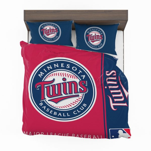 Minnesota Twins MLB Baseball American League Bedding Set 2