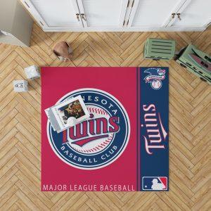 Minnesota Twins MLB Baseball American League Floor Carpet Rug Mat 1