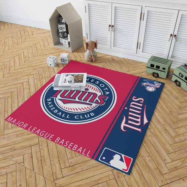 Minnesota Twins MLB Baseball American League Floor Carpet Rug Mat 2