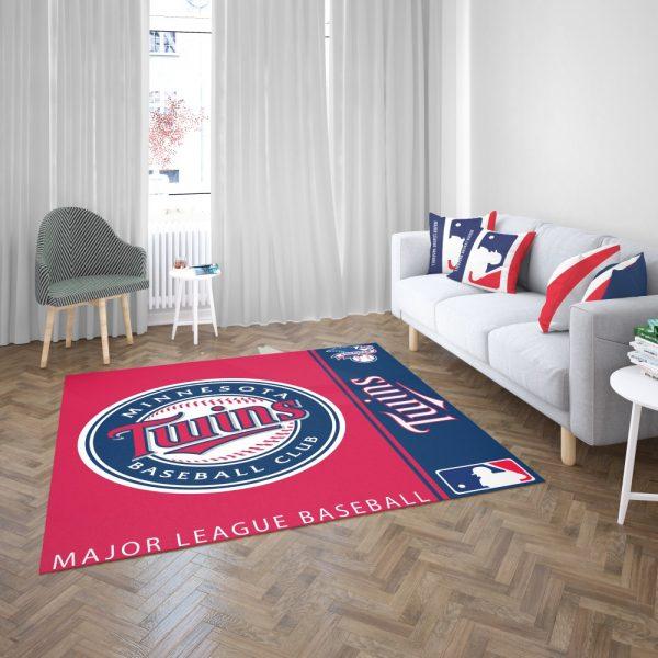 Minnesota Twins MLB Baseball American League Floor Carpet Rug Mat 3