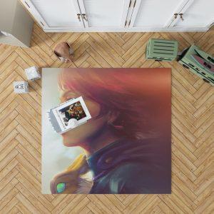 Nausicaä of the Valley of the Wind Movie Girl Red Hair Bedroom Living Room Floor Carpet Rug 1