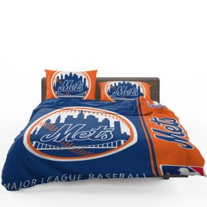 New York Mets MLB Baseball National League Bedding Set 1