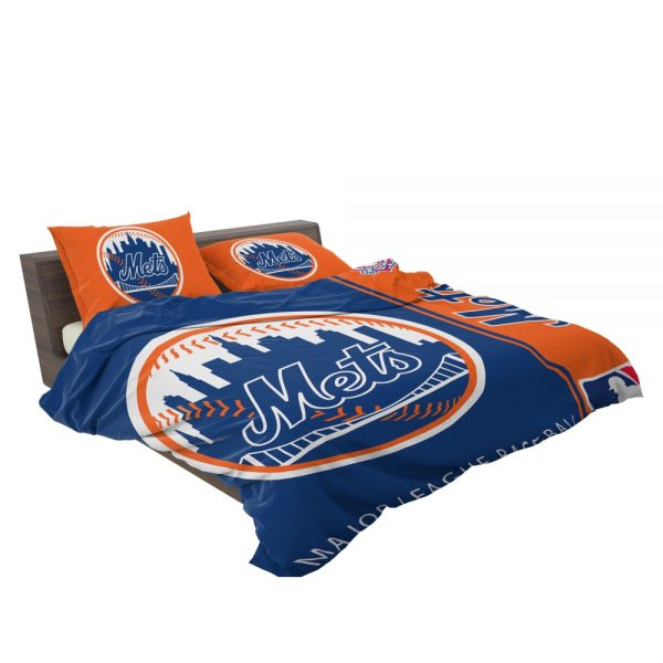 New York Mets MLB Baseball National League Bedding Set 3