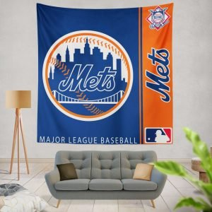 New York Mets MLB Baseball National League Wall Hanging Tapestry