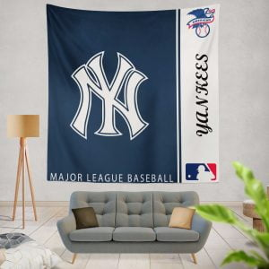 New York Yankees MLB Baseball American League Wall Hanging Tapestry