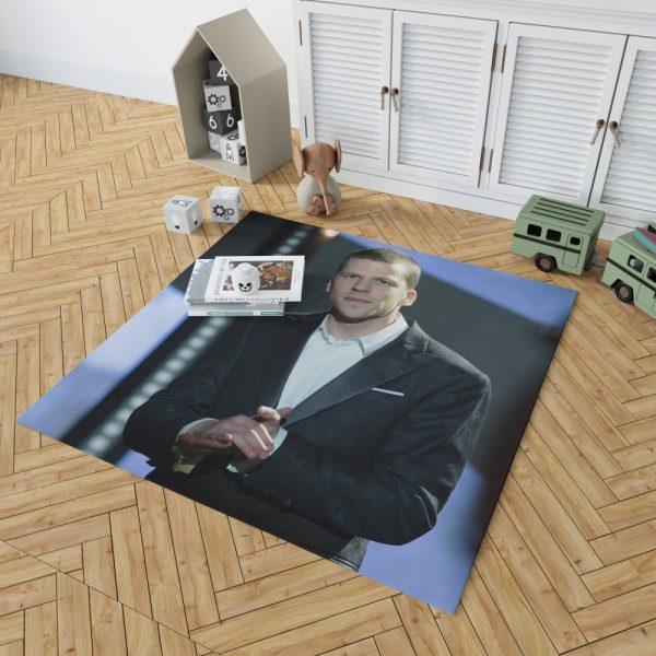 Now You See Me 2 Movie J Daniel Atlas Jesse Eisenberg Bedroom Living Room Floor Carpet Rug 2