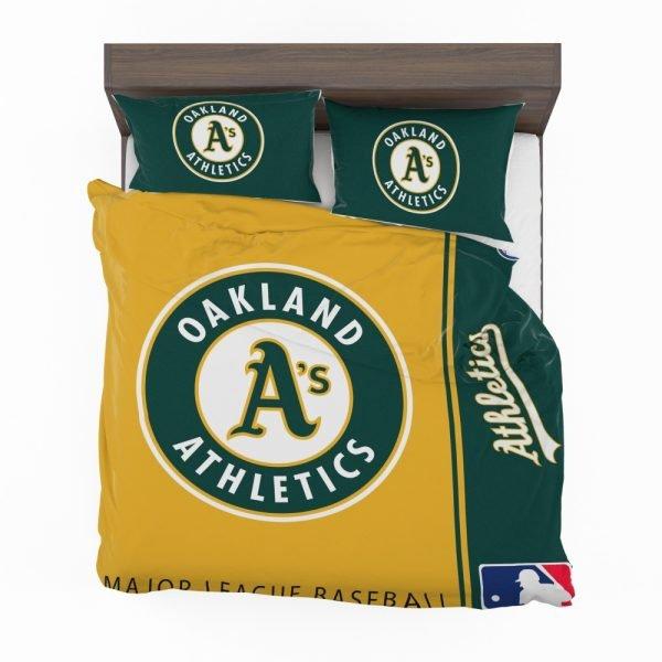 Oakland Athletics MLB Baseball American League Bedding Set 2