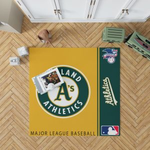 Oakland Athletics MLB Baseball American League Floor Carpet Rug Mat 1