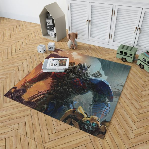 Optimus Prime Transformers the Last Knight Bedroom Living Room Floor Carpet Rug 2