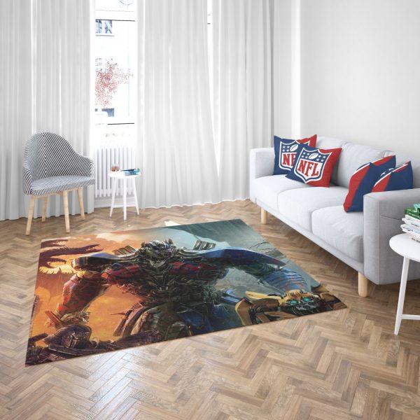 Optimus Prime Transformers the Last Knight Bedroom Living Room Floor Carpet Rug 3