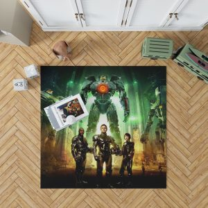 Pacific Rim Movie Stacker Pentecost Lambert Liwen Shao Bedroom Living Room Floor Carpet Rug 1