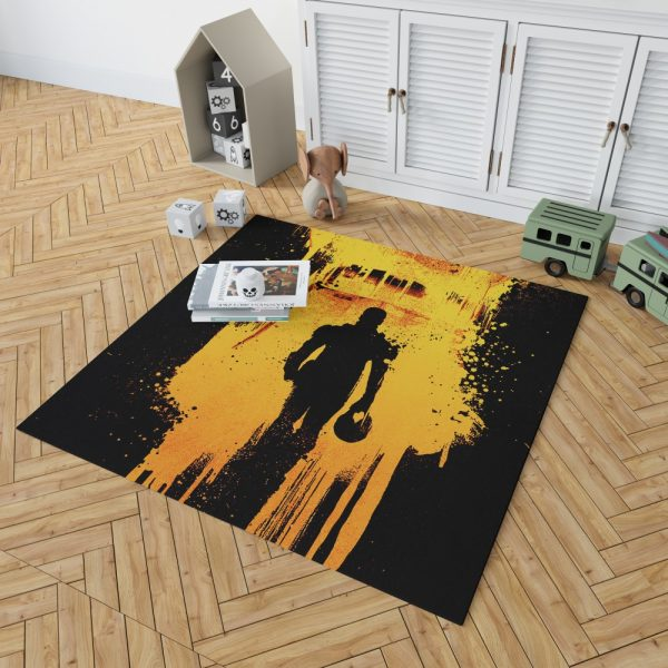 Pacific Rim Uprising Movie Bedroom Living Room Floor Carpet Rug 2