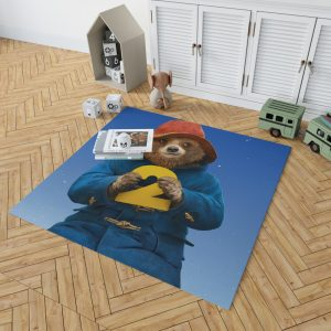Paddington 2 The Bear Animation Movie Bedroom Living Room Floor Carpet Rug 2