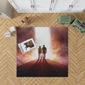Passengers Movie Chris Pratt Jennifer Lawrence Bedroom Living Room Floor Carpet Rug 1