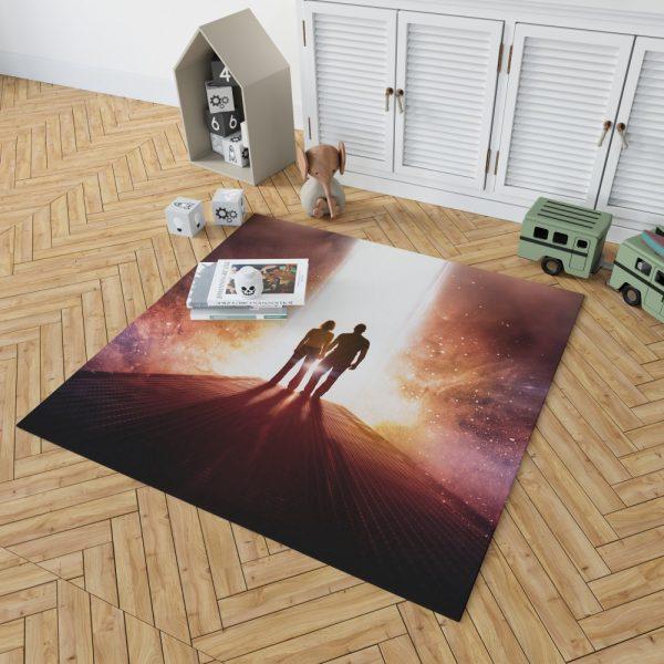 Passengers Movie Chris Pratt Jennifer Lawrence Bedroom Living Room Floor Carpet Rug 2