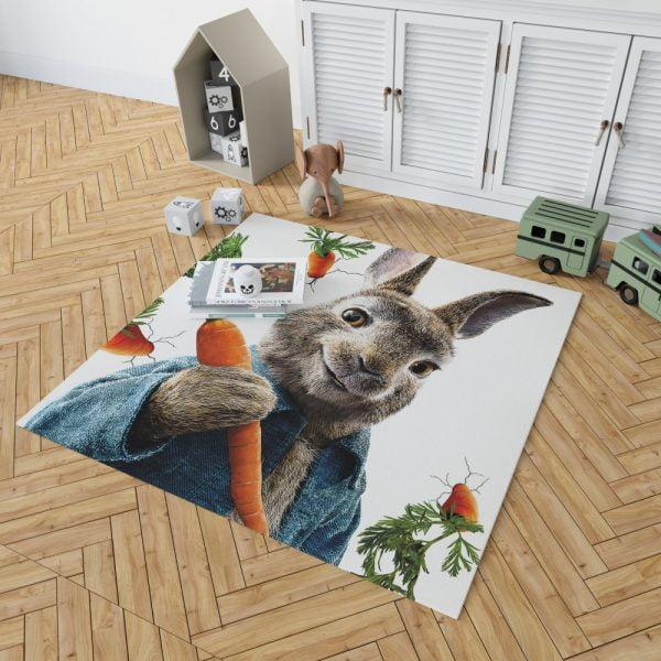 Peter Rabbit Animation Movie Bedroom Living Room Floor Carpet Rug 2