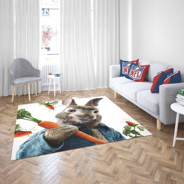 Peter Rabbit Animation Movie Bedroom Living Room Floor Carpet Rug 3