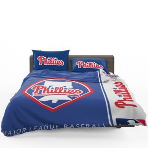 Philadelphia Phillies MLB Baseball National League Bedding Set 1