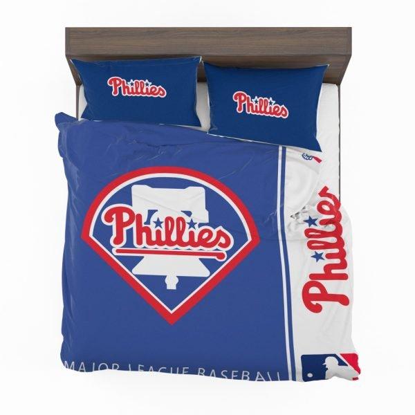 Philadelphia Phillies MLB Baseball National League Bedding Set 2