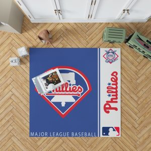 Philadelphia Phillies MLB Baseball National League Floor Carpet Rug Mat 1