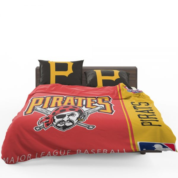 Pittsburgh Pirates MLB Baseball National League Bedding Set 1