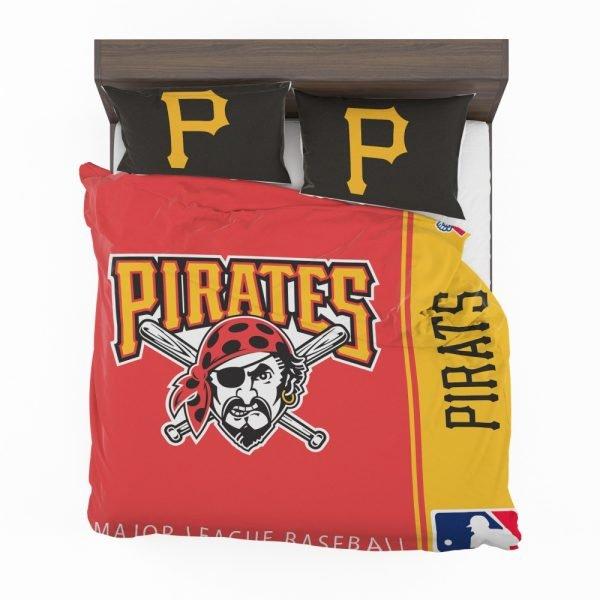 Pittsburgh Pirates MLB Baseball National League Bedding Set 2