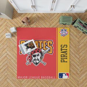 Pittsburgh Pirates MLB Baseball National League Floor Carpet Rug Mat 1